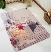 3D Weihnachten Xmas Schnee Licht 3 Non-Slip Carpet Mat Quality Elegant C... - $96.23+