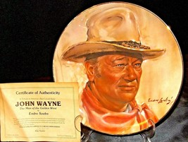 John Wayne  The Man of the Golden West by Endre Szabo 5443 B AA20-CP2260 Vintage