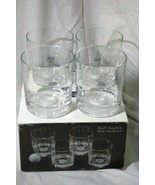 Royal Limited Boxed Set Of 4 Crystal Golf Double Old Fashion Glasses DOF - $25.19