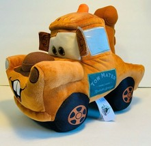 """Disney Parks Cars Land """"Cars"""" Tow Mater Pillow Plush New With Tag - $36.25"""