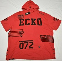 Ecko Unltd Hoodie T-Shirt Men's 4XL 4XB 4X Logo Graphic Hoody Tee Red Ur... - $22.95