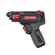 Craftsman 4 Volt Cordless Slide Screwdriver - $37.82