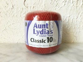 Aunt Lydia's Classic 10 Size Cotton Crochet Thread - One Ball Color Vict... - $6.60