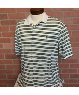 Polo By Ralph Lauren Polo Golf Mens L Shirt Short Sleeve Stripe (CC35) - $16.82