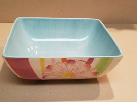 Laurie Gates LGM525S Assorted Color Floral Large Serving Dish (NEW) - $49.45