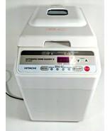 Hitachi Automatic Bread Maker Home Bakery Machine HB-B102 White - $39.95