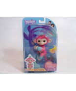 WowWee Fingerlings Melon Baby Monkey Interactive Toy Pink 40+ Sounds - $12.95
