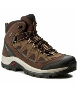 Salomon Authentic Leather GTX Mens Brown Waterproof Trail Hiking Boots 3... - £137.67 GBP