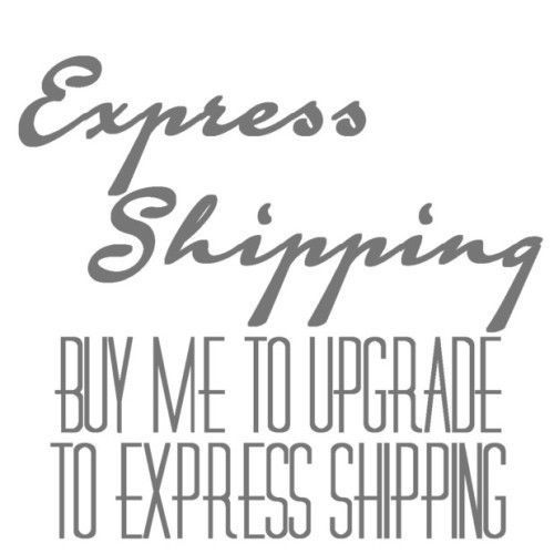 Use this option to Upgrade your Standard Shipping to Express shipping Only - $30.00
