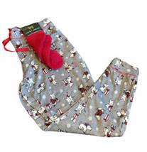 Laura Ashley Pajama Pants Highland Dog Scottie Westie plus Sz 1X Christm... - $24.99