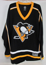 NHL Licensed Pittsburgh Penguin Blank Jersey  Black/Gold XX-Large - $108.89