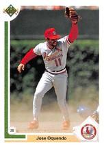 1991 Upper Deck #193 Jose Oquendo NM-MT Cardinals - $0.99