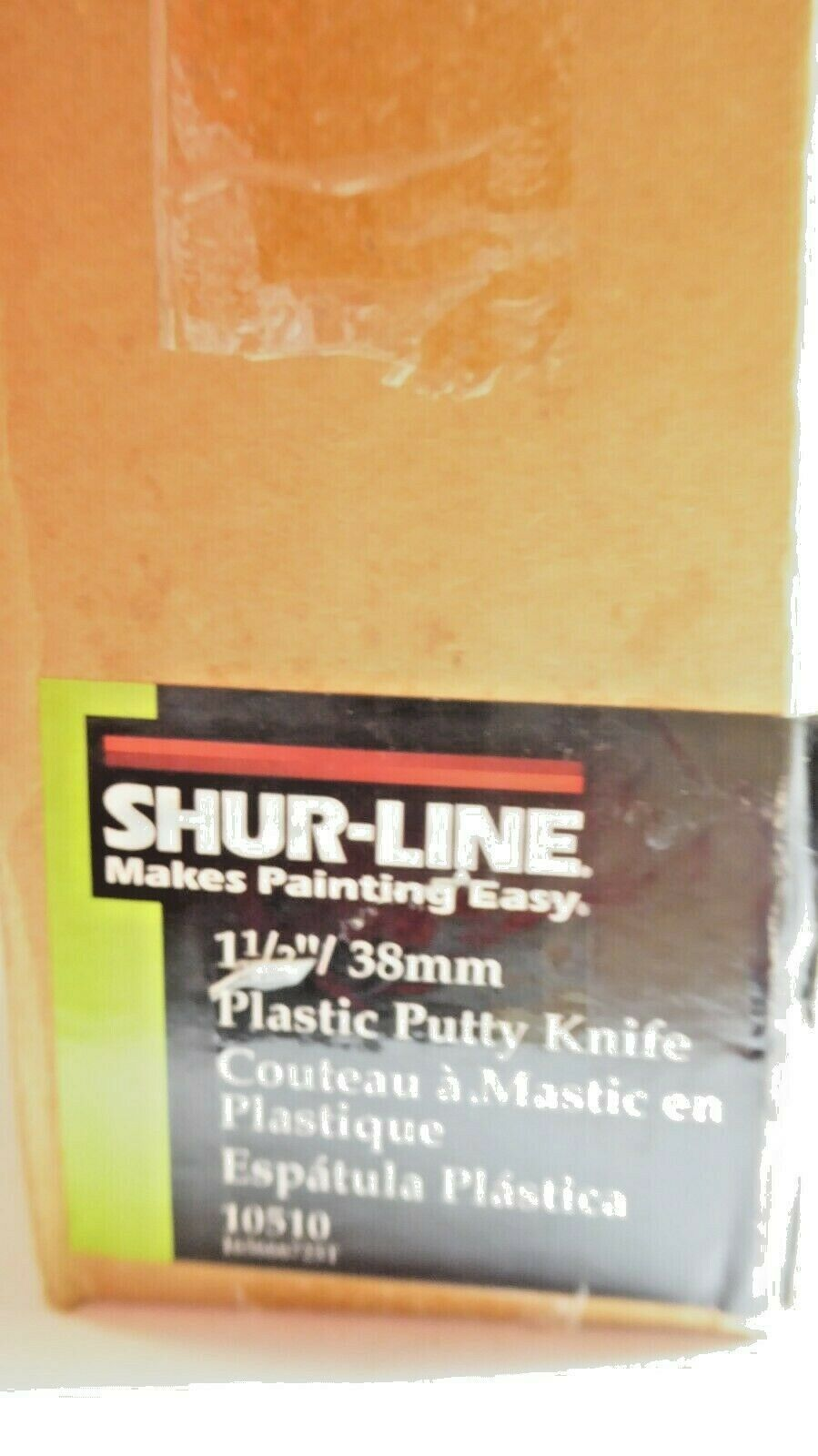 """Shur-Line 10510 Economy Plastic Putty Knife 1 1/2"""" Pack of 25 New"""