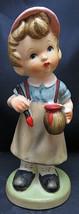 Goebel Hummel Little Boy Painting German Ceramic Figurine Hand Painted 7... - $50.00