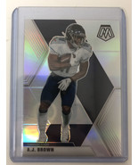 2020 Panini Mosaic Football AJ Brown Silver Prizm Tennessee Titans #190 NFL - $9.49