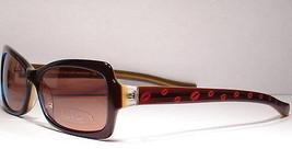 Nicole Miller Nepal Brown sunglasses Women Frames Eyeglasses Eyewear Designer