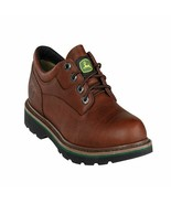 John Deere Men's Oxford Steel Toe Boot JD7323 Size 8M - $110.99