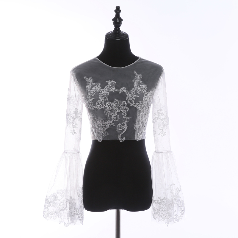 Empire style lace top