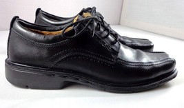 Clarks Unstructured Oxfords Mens Black Size 10 N Lace Up Shoes - $84.10