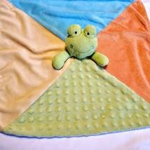 Koala Baby Frog Lovey Security Blanket Orange Blue Green Yellow Polka Mi... - $24.74