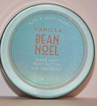 Bath & Body Works Vanilla Bean Noel Super Soft Body Butter w shea travel 2oz NEW - $7.59