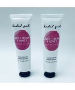 2 Kindred Goods Sweet Cream & Honey Hand Cream 1 oz Each New Discontinued - $19.99