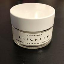 Herbivore BRIGHTEN Pineapple Enzyme And Gemstone Brightening Mask .5 oz image 1