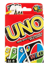 UNO Color & Number Matching Card Game for 2-10 Players Ages 7Y+ - $13.99