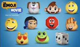 NEW McDonald's 2017 Emoji Movie Plush Happy Meal Toy #3 HI-5 New In Packaging - $3.75