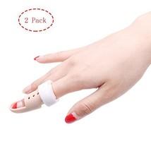 Thinvik [2 Pieces] Plastic Mallet Dip Finger Support Brace Splint Joint ... - $10.43