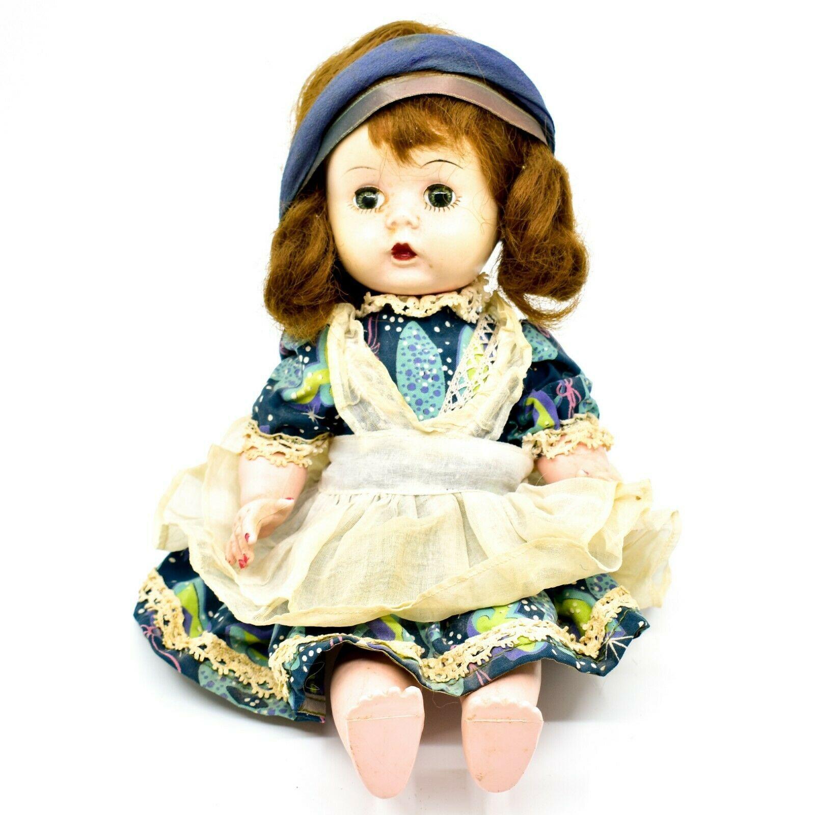 """Vintage 1950s Arranbee R&B Littlest Angel? Jointed Knee Walking Walker 11"""" Doll"""