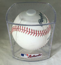 JOSE ALTUVE / HOUSTON ASTROS / AUTOGRAPHED OML BASEBALL IN CUBE / PLAYER HOLO image 6