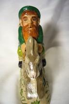Vaillancourt Irish Santa Gnome Riding Rabbit image 2