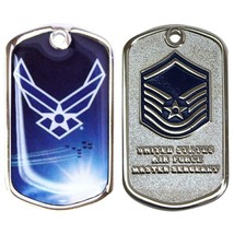 Army Coin: Master Serg EAN T With Plastic Sleeve - $17.80
