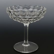 Fostoria American Crystal Bowl Footed Jelly with Cover image 3