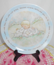 Precious Moments Collector Plate - $8.00