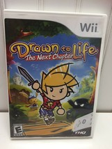 Drawn to Life The Next Chapter w/ Case - Nintendo Wii (PREOWNED) 22624 - $14.84