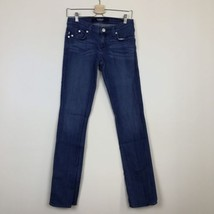 Rock & Republic Jeans 26 X 34 Stella Low Rise Straight Leg Medium Wash - $10.36