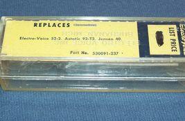 Electro-Voice EV 52-2 Zenith 142-80 87 cartridge needle for Astatic 93T image 3
