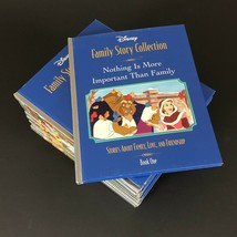 Disney Family Story Collection 12 Books Set Lot Hardcover  - $23.99