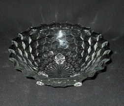 "Free Shipping Fostoria 3-Toed Footed Bowl 9 1/2"" American Glass 2056        - $19.75"