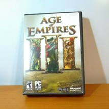 Age Of Empires Iii, Pc Game, Age Of Empires Lll, War Chiefs! - $18.32