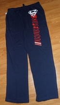 *Superman Young Men's Knit LOUNG/SLEEP Pants Size S - L Navy Blue Stretch Nwt - $16.99