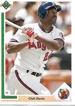 Baseball Card- Chili Davis 1991 Upper Deck #339 - $1.28