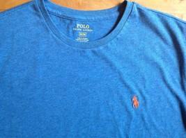 Polo Ralph Lauren Marine Blue Crew Neck Standard Fit T-Shirt Sizes Small Med XL - $19.98