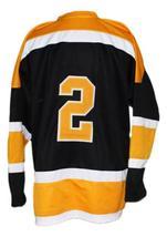 Any Name Number Oshawa Generals Retro Hockey Jersey Orr Black Any Size image 2