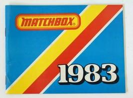 Vintage 1983 Matchbox Lesney Collezionista Giocattolo Fornitore Catalog ... - $22.95