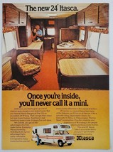 1975 Print Ad Itasca 24-Ft Motor Homes Never Call It a Mini Wimmebago - $11.56