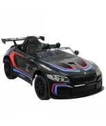 Black BMW M6 GT3 12V Ride On Car Remote Control Kids Toy Christmas Pressent  - $295.00