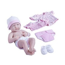 Baby Doll Set 8 Pcs For Girls 5 Years Old Pink Original Newborn Birthday... - $46.42